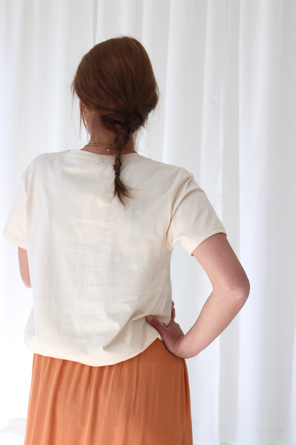 CAMILLETTE SHIRT - BEIGE