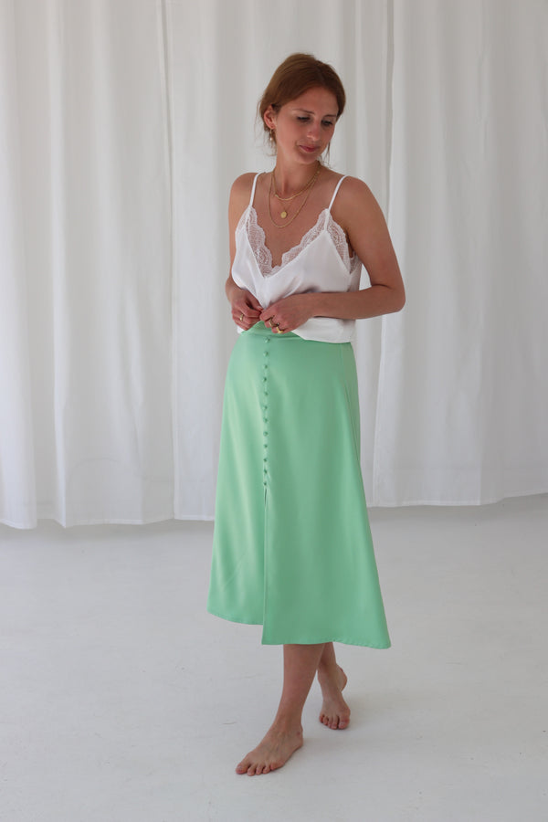 CAYSA SKIRT - JADE GREEN