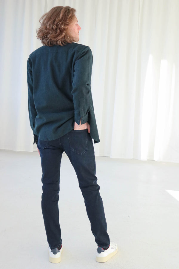 LUKE SLIM TAPERED - DARK PORTER