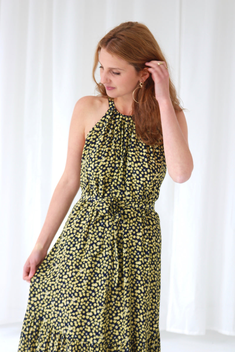 AHAVA DRESS - YELLOW