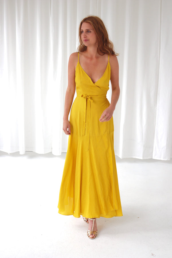 ALIKA DRESS - YELLOW