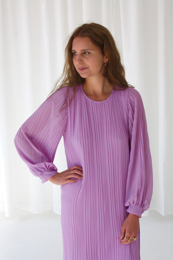 BONNIE  DRESS - PURPLE