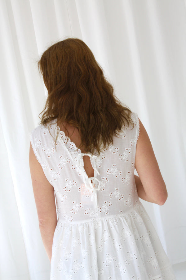 ATLANTA  DRESS - WHITE