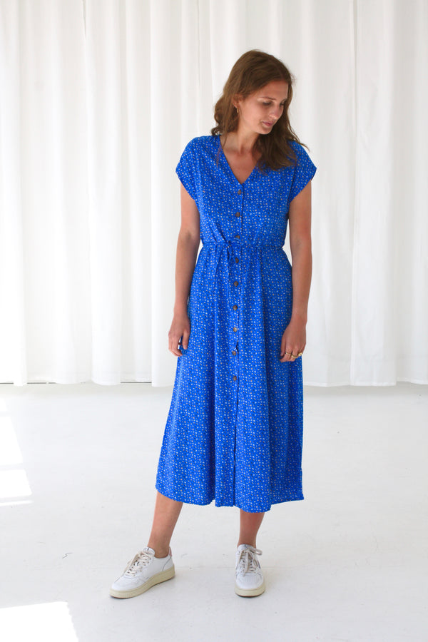 AUTEURE DRESS - MARINE