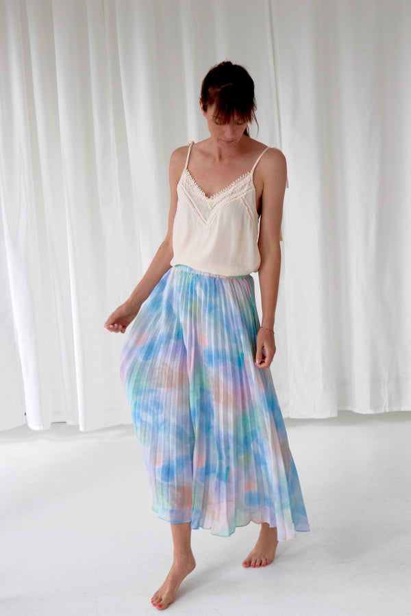 EARINE SKIRT  - AQUARELLE