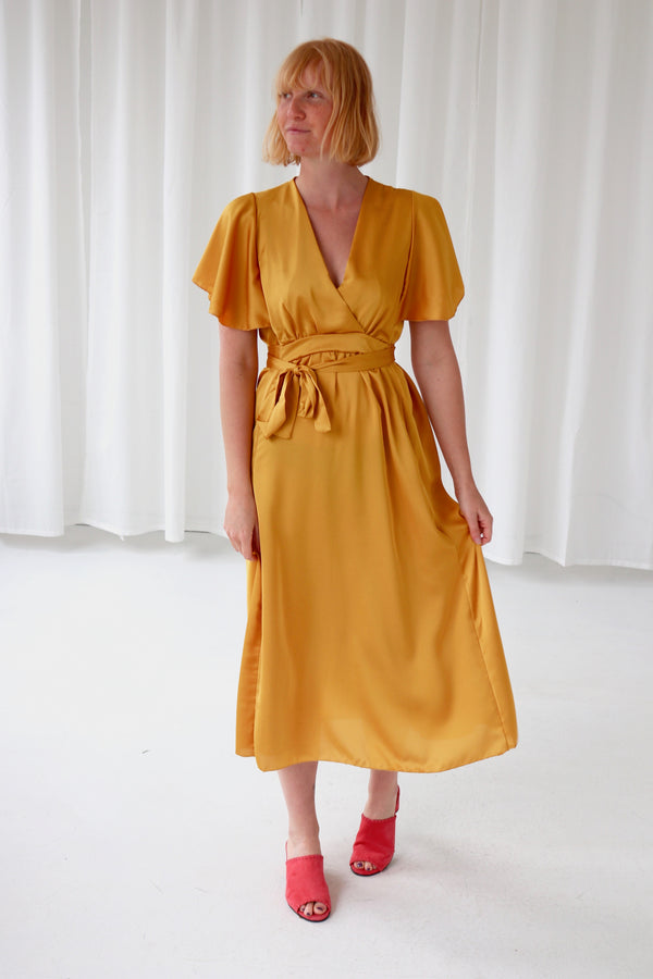 BANANA DRESS - YELLOW