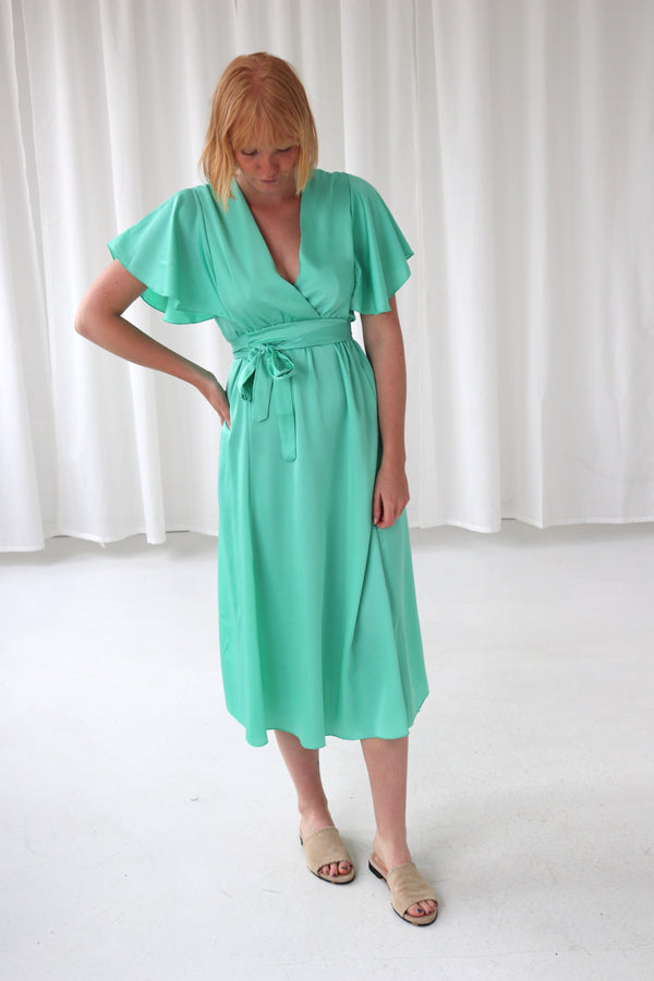 BANANA DRESS - GREEN