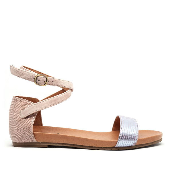 INDIA SANDALS - COSMIC & DUSTY PINK