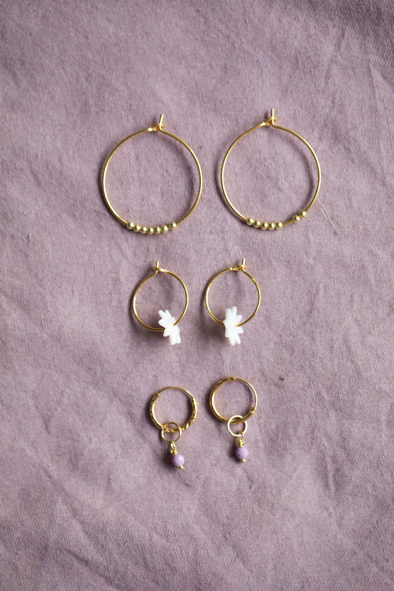 MADELIEF EARING  - GOLD