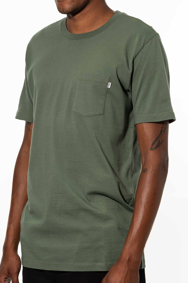 BASE TEE  T-SHIRT - JADE