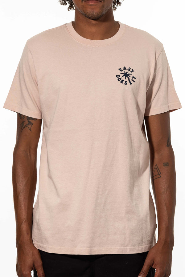 EASY PALM  T-SHIRT - PINK