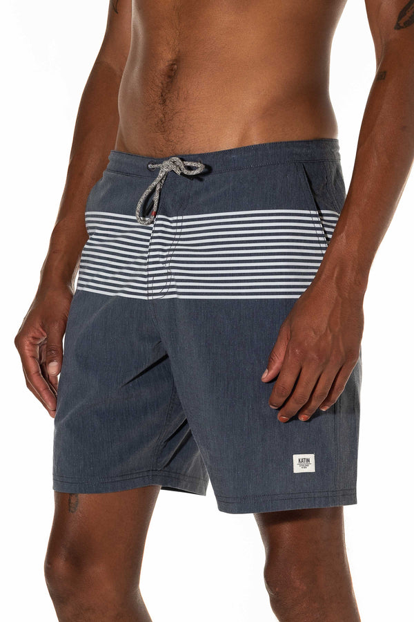 ROAM TRUNK SHORT - BLACK WASH