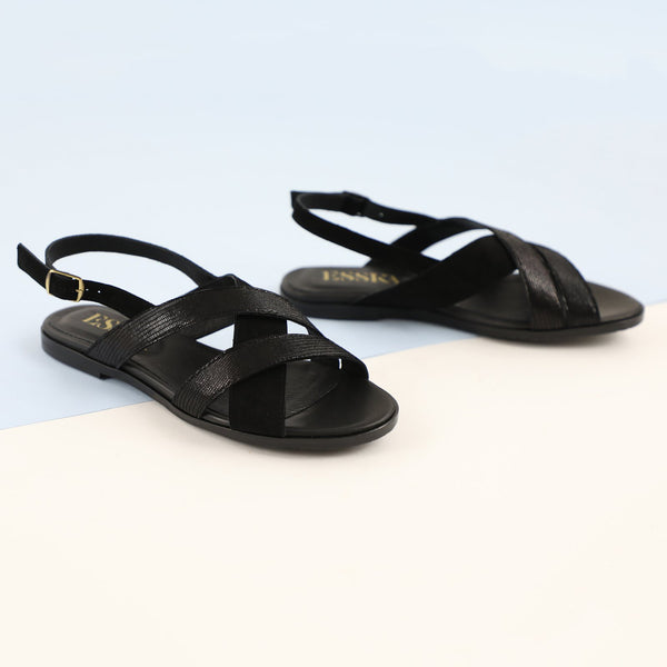 LOOP SANDALS NEW - BLACK