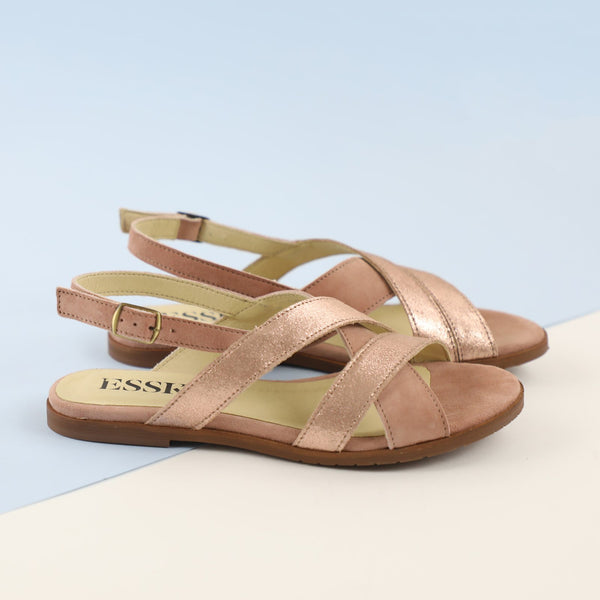 LOOP SANDALS NEW - ROSE GOLD