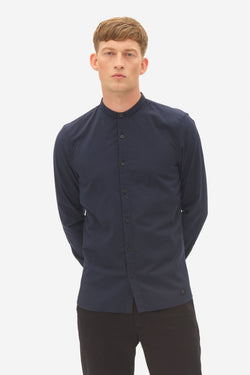 RIPSTOP SIGNATURE COLLAR SHIRT - SKY CAPTAIN