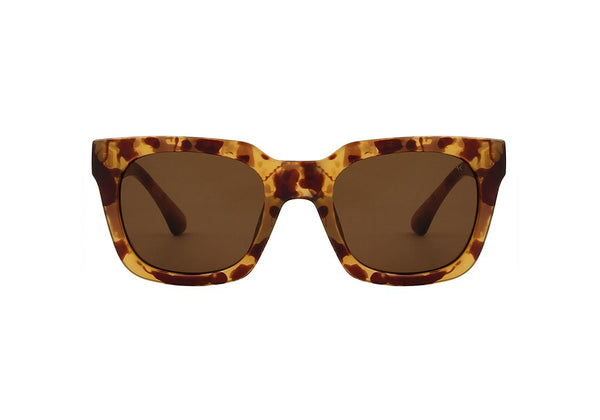 NANCY  SUNGLASSES -DEMI  LIGHT BROWN