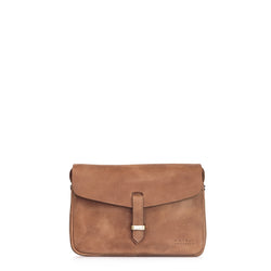 ALLY MIDI BAG  - CAMEL HUNTER LEATHER