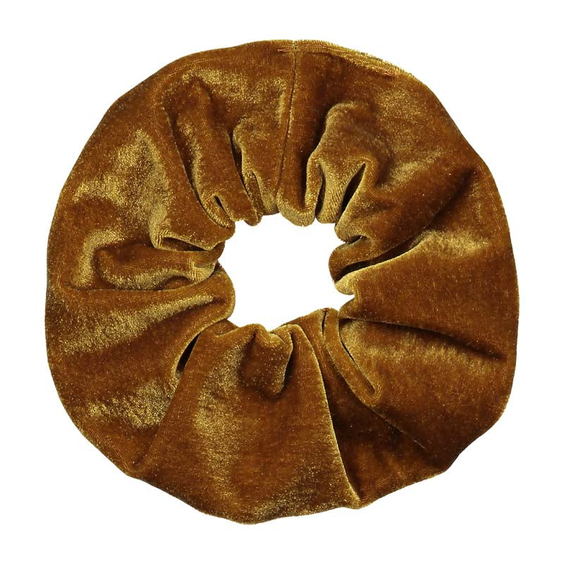 GOLD VELVET SCRUNCHIE ODIE