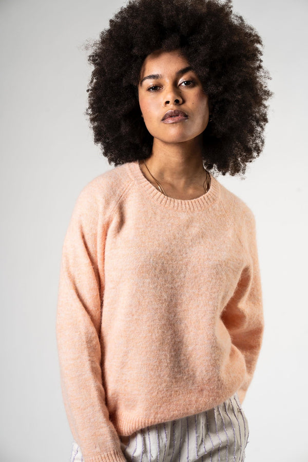 TEDDYBEAR KNIT - PEACH