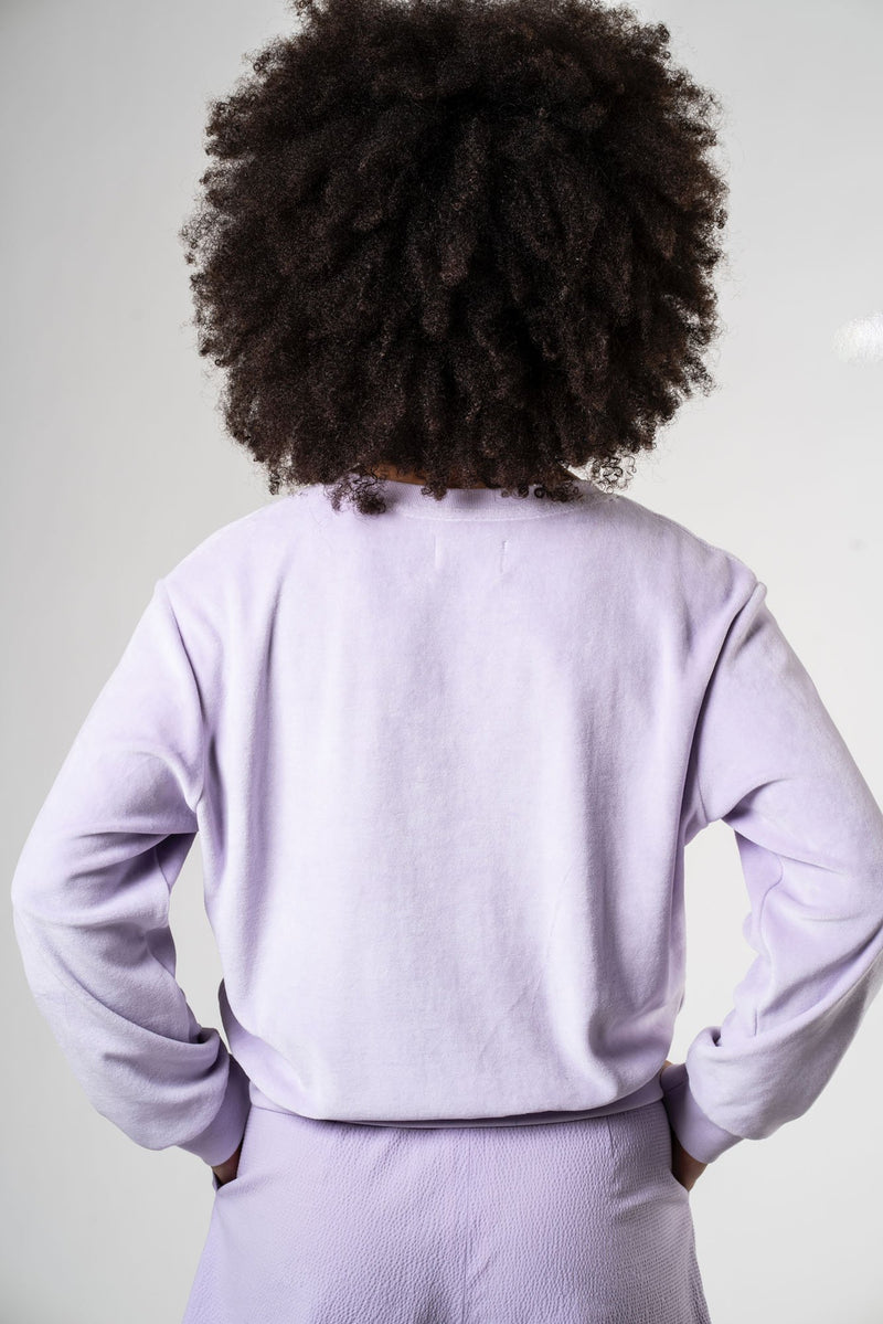 BOOKLEAF SWEATER - PURPLE