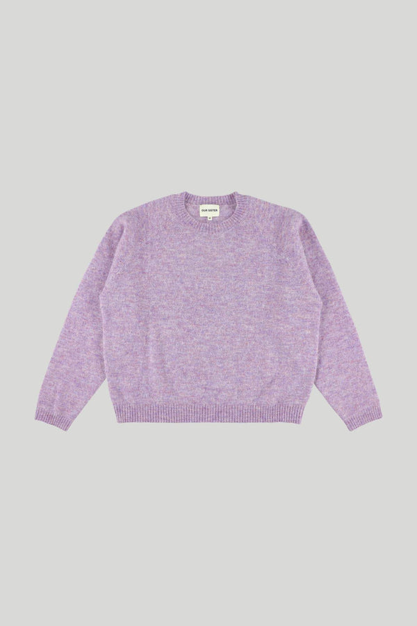 TEDDYBEAR KNIT - PURPLE
