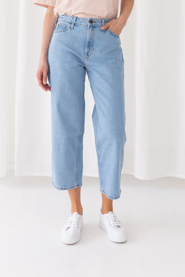 WIDE LEG JEANS - LIGHT ALTON