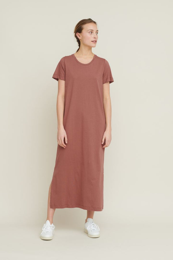 REBEKKA DRESS - MINK