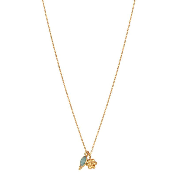 FELINE SHORTIE NECKLACE - GOLD