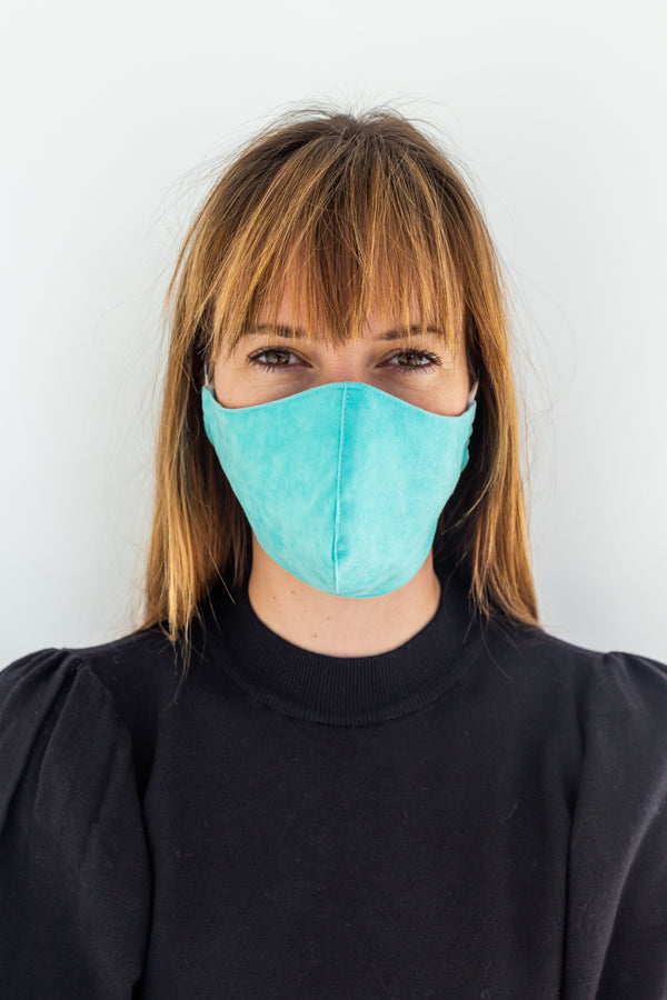 WEAR MASK - TURQUOISE