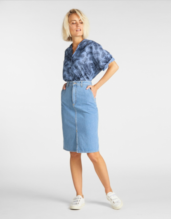 MOM SKIRT - LIGHT MESA