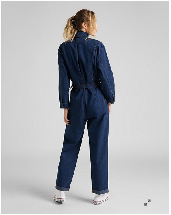 BELTED UNION ALL IN JUMPSUIT - RINSE