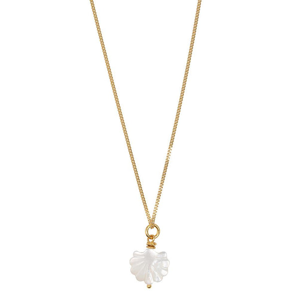 SHORTIE CHERIE NECKLACE  - GOLD
