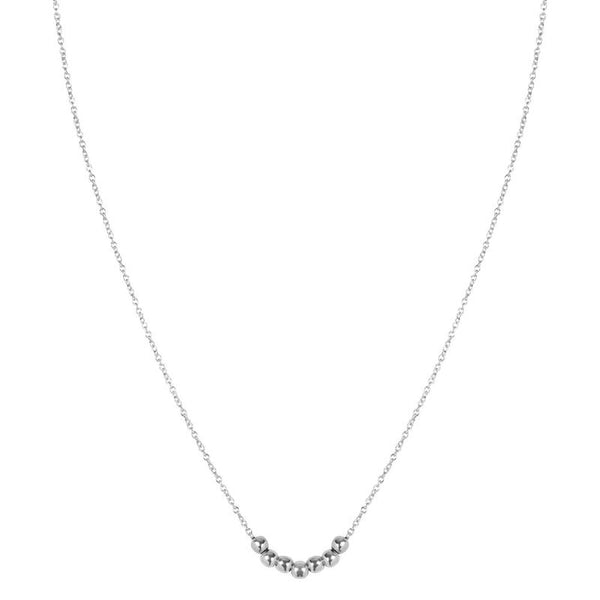SHORTIE DELICATE NECKLACE - SILVER