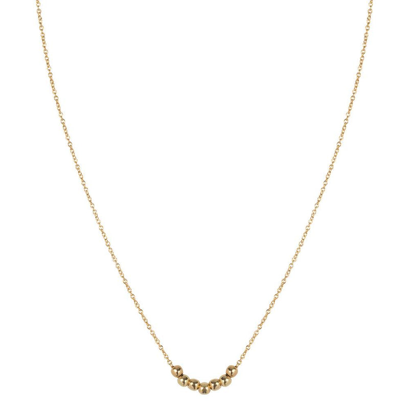 SHORTIE ELEGANCE NECKLACE  - GOLD