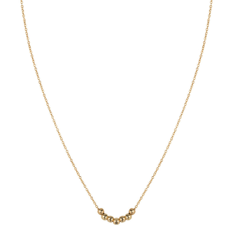SHORTIE DELICATE  NECKLACE - GOLD