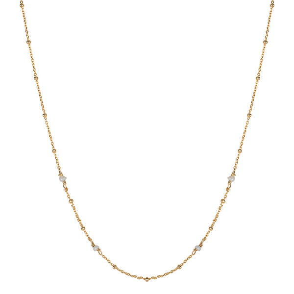 SHORTIE GYPSY NECKLACE  - GOLD
