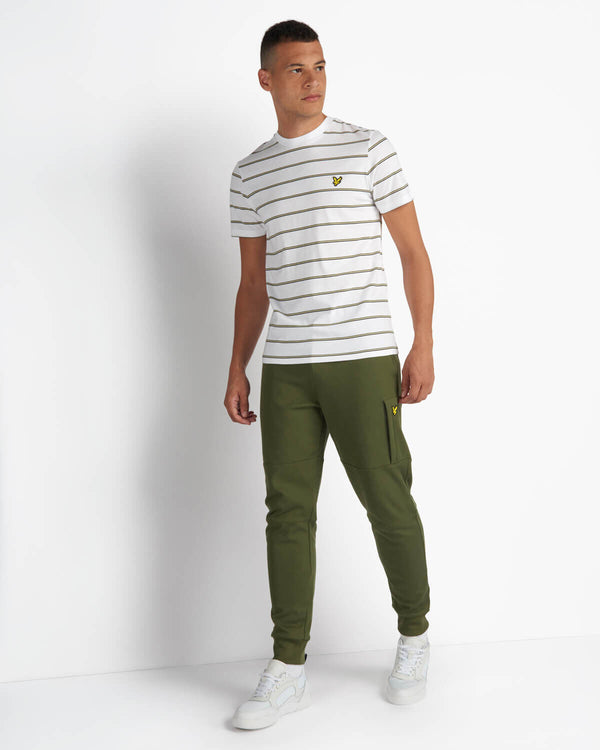 STRIPE T-SHIRT - WHITE