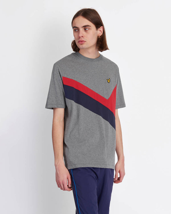 ARCHIVE PANEL  T-SHIRT - GREY