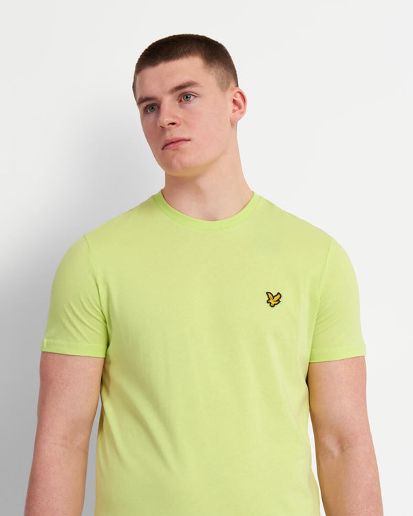 CREW NECK T-SHIRT - SHARP GREEN