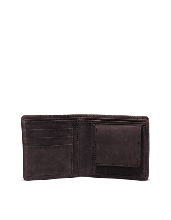 TOBI'S WALLET - ECO-DARK BROWN