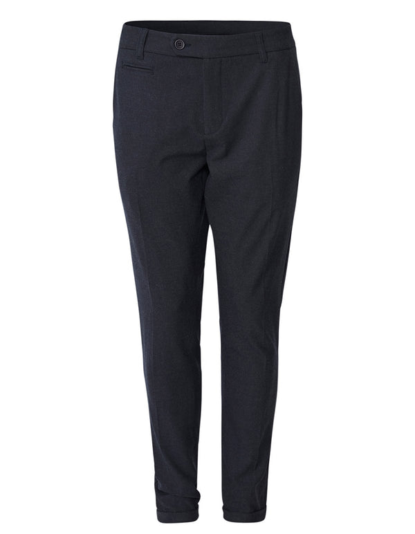 COMO MELANGE SUIT PANTS - DARK NAVY MELANGE