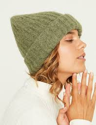 GINY HAT - ATLANTIC MELANGE / DARK GREEN