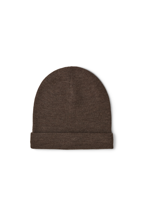 HOPE BEANIE - BROWN MELANGE