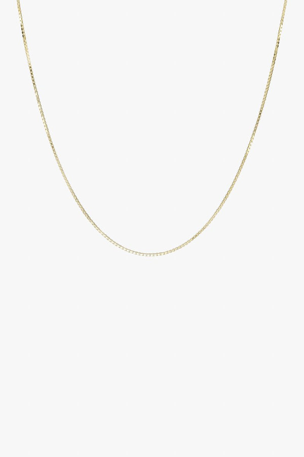 BOX CHOKER - GOLD