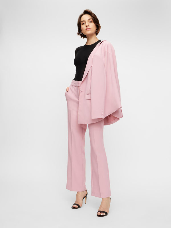 BLURIS FLARED PANT - BLUSH