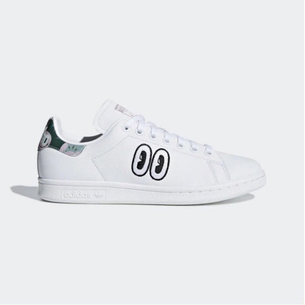 STAN SMITH W - WHITE BLACK EYES SMILE