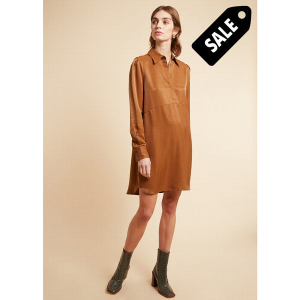 Acelya Dress - Ochre