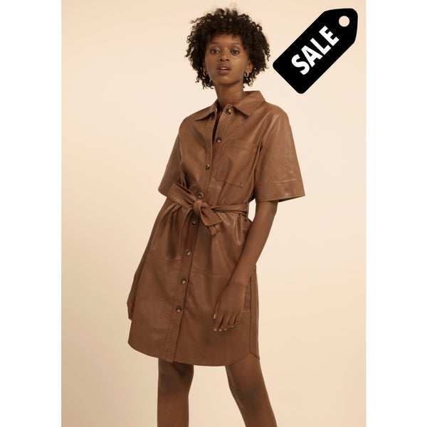 Adelma Dress - Marron Glace