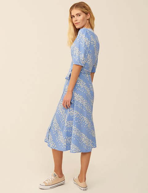 ANGELO DRESS - BLUE PRINT