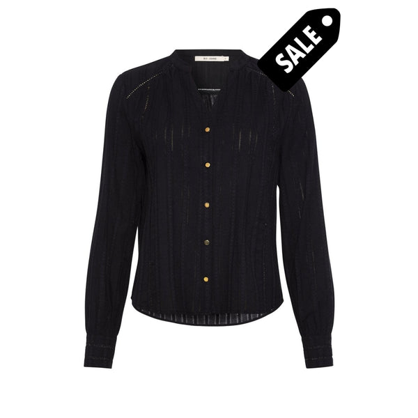 Anne Shirt - Black Xs